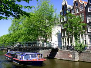 Amsterdams berømte kanaler