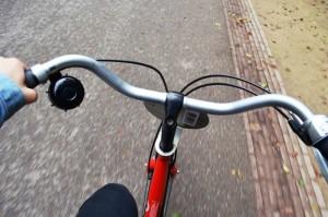 Sykkel er et fint framkomstmiddel i Amsterdam
